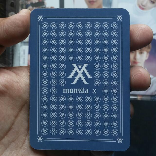 MONSTA X The Clan Part. 2 Innocent Ver. I.M Official Photocard