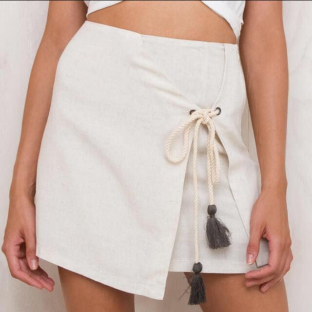 Morrisday Linen Skirt