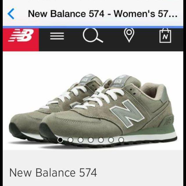 (降價)New balance574 灰色休閒鞋慢跑鞋 6.5號