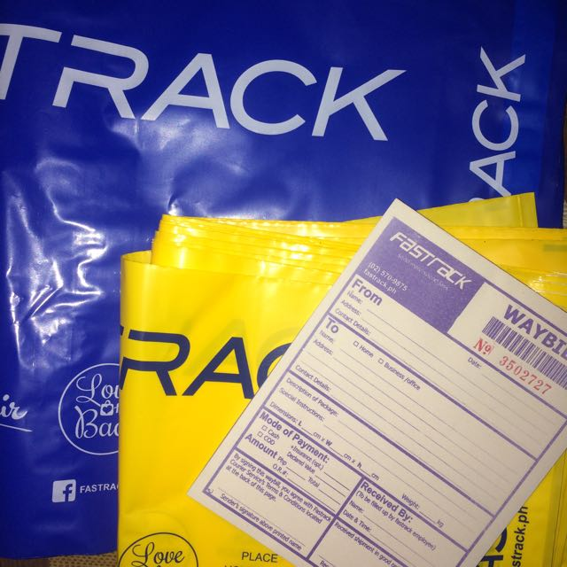 NEW COURIER‼️ FASTRACK