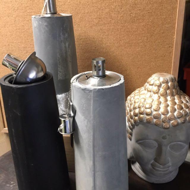 New stone Clay Oil Lanterns