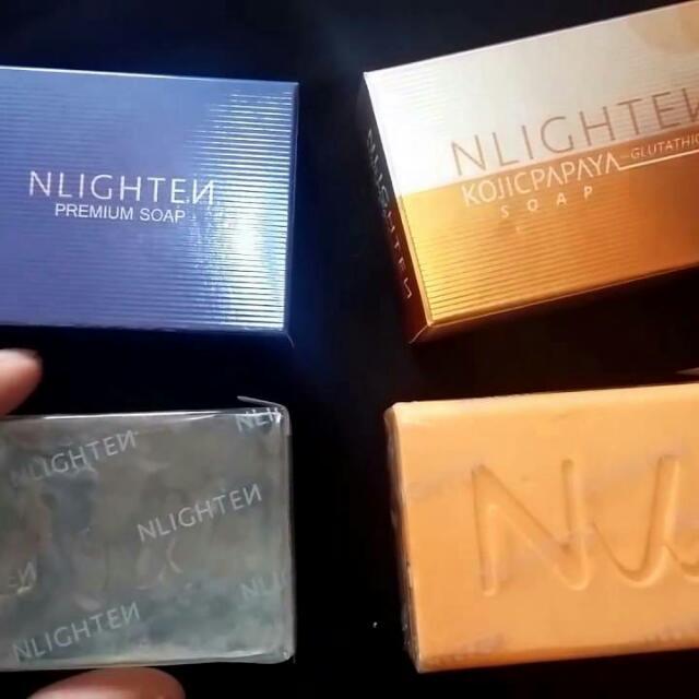 Nlighten Premium Soap And Kojic Papaya Soap