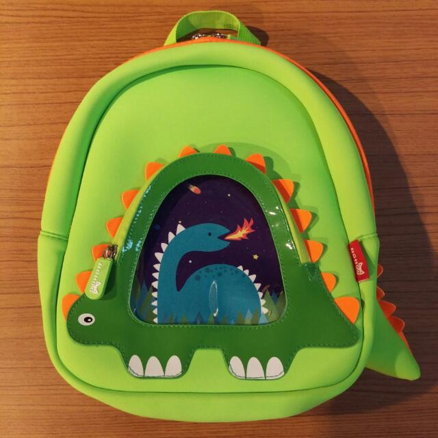 NOHOO 全新兒童3D恐龍後背包