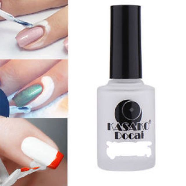 Peel Off Nail Art Tools Palisade Base Coat 15ml - Home Manicure ...