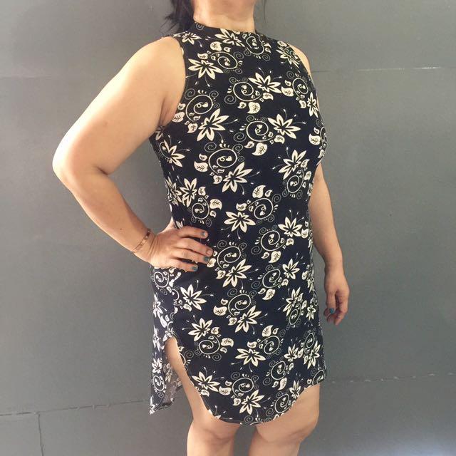 Plus Size Dress W/ Slit