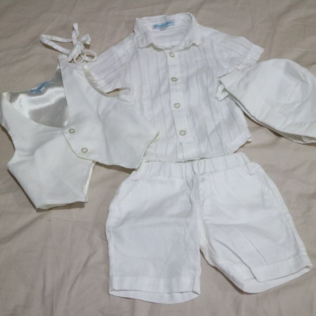 Pre-loved Periwinkle 5-pc. Set Christening Outfit