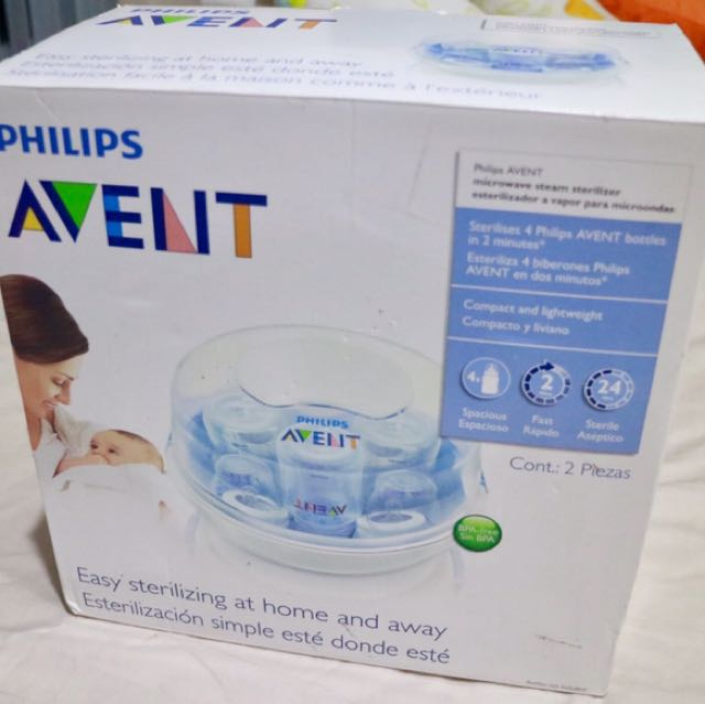 Pre-loved Philips Avent Microwave Steam Sterilizer