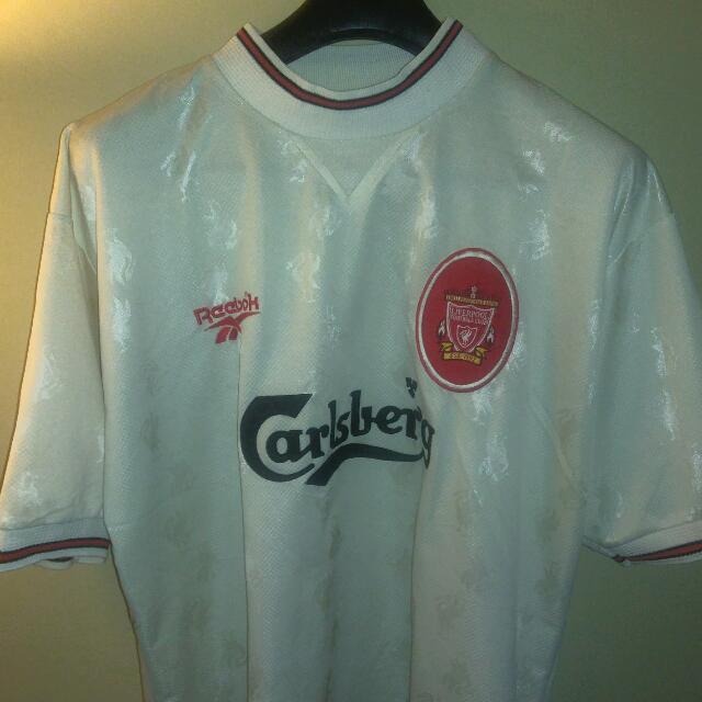 fb76582df05 Reebok Liverpool FC Away Shirt 96 97