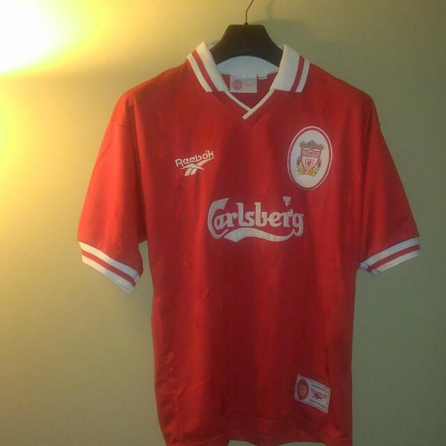 new product 8d74d 82fbf Reebok Liverpool FC Home Jersey 96/97