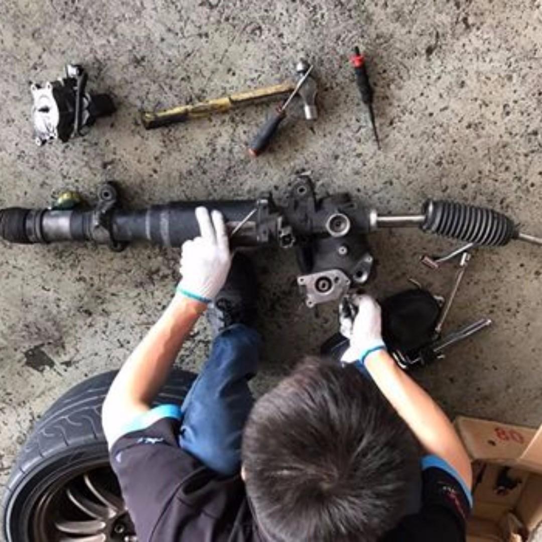 Steering Rack and Repair