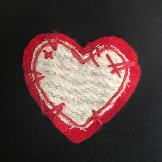 Repaired Heart Patch