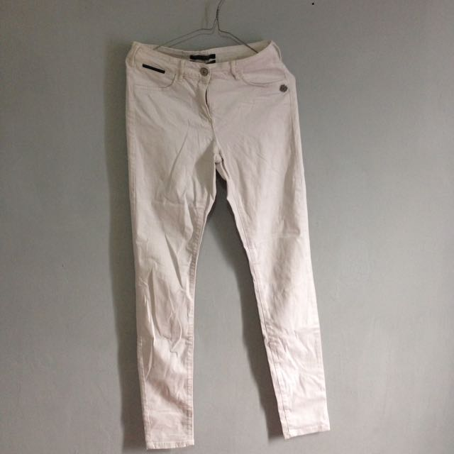 Reprice White Jeans Import