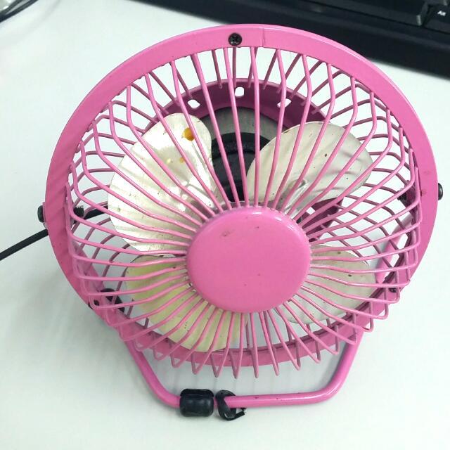 Small USB Desk Fan