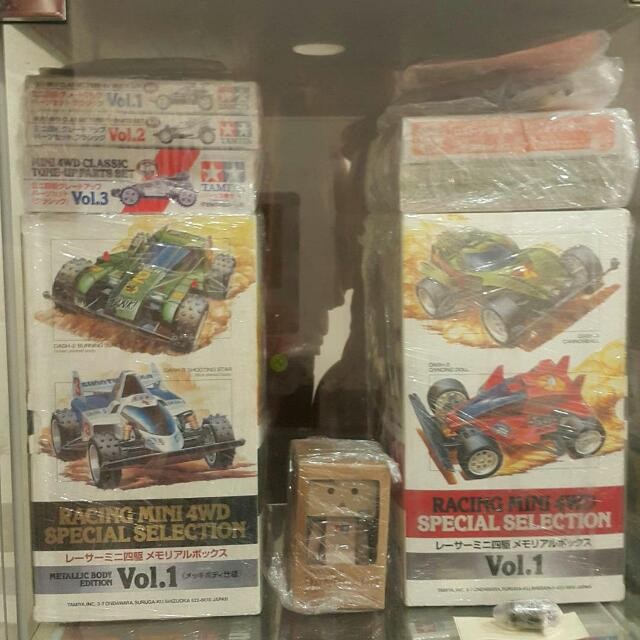 Tamiya Racing Mini 4wd Emperor collection, Toys & Games, Other Toys on Carousell