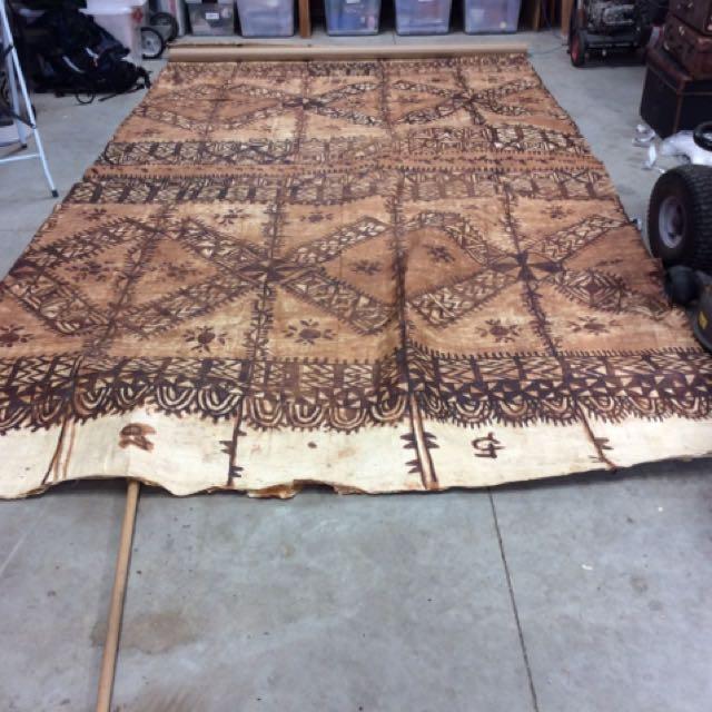 Tongan Tapa Cloth