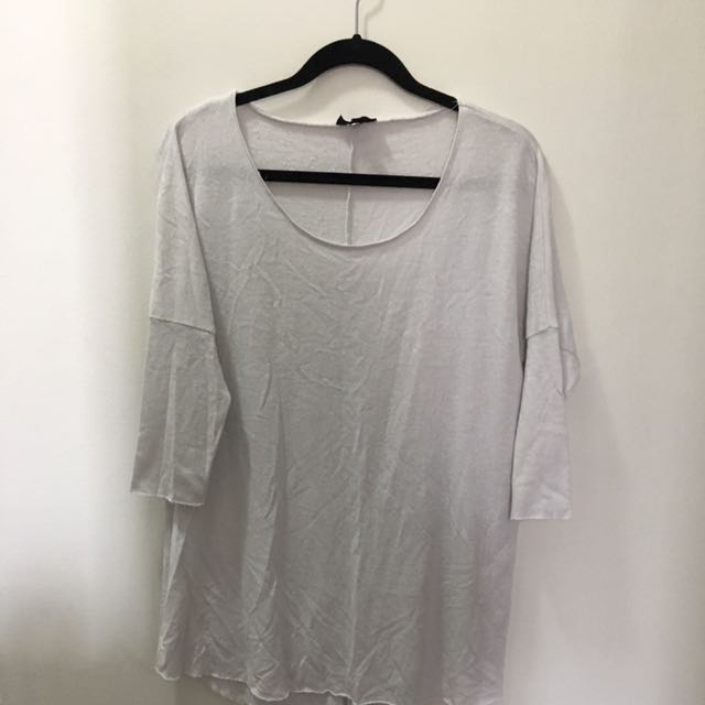 Topshop 3/4 Sleeve Shirt