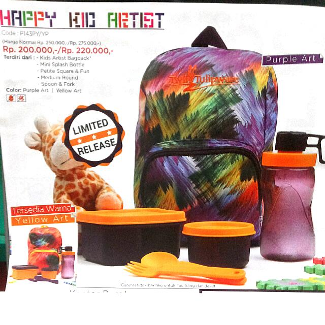 Tulipware Happy Kid Artist