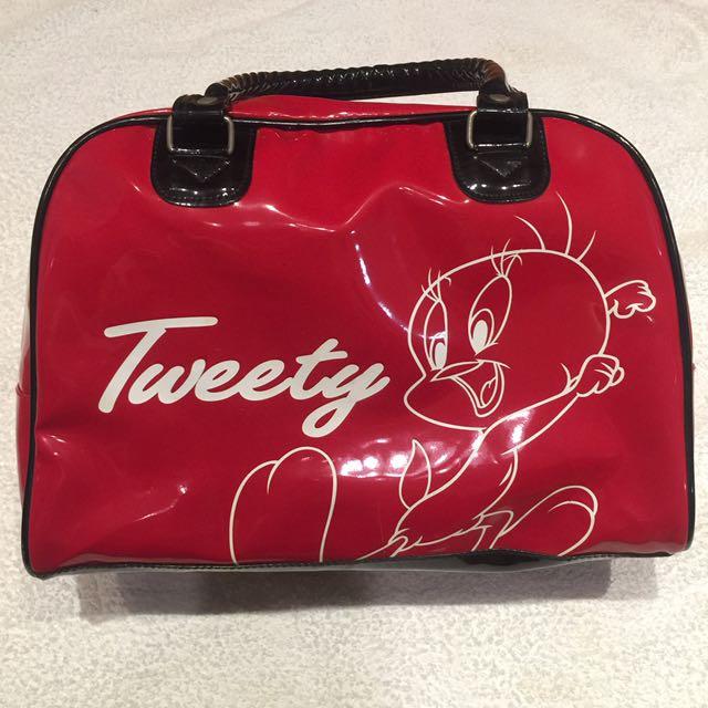 Tweety PVC 手提包 旅行袋