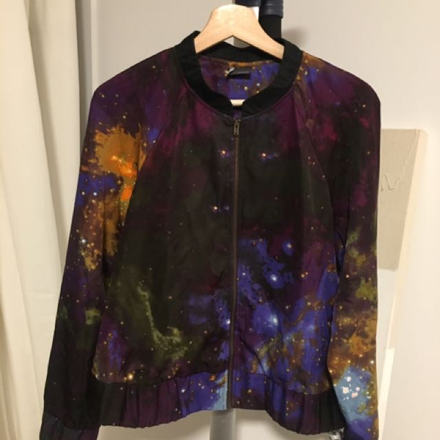 Urban Outfitters Galaxy Bomber