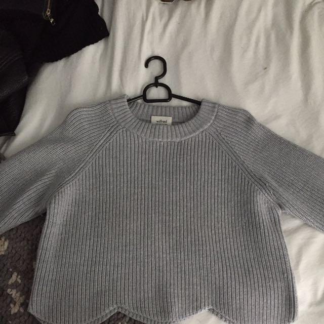 Wilfred Crop Sweater