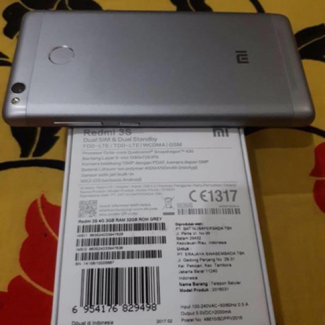 Xiaomie Redmi 3s 3/32 GB Silver