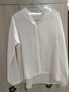AIRSPACE白色長袖上衣
