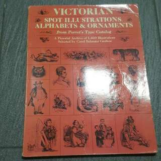 Victoriana Spot Illustration Alphabets & Ornaments