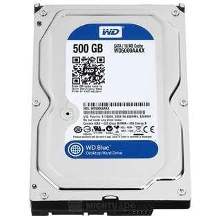 500GB 3.5吋  硬碟