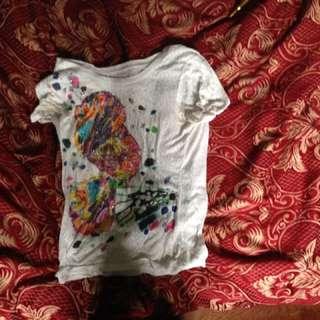 Gemmed Butterfly Tshirt
