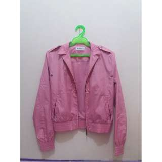 Pink Ben Sherman Motorcycle Jacket
