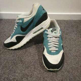NIKE AIR MAX - Teal Suede
