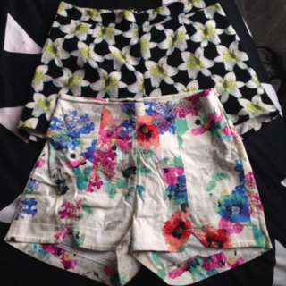 Chica Booti & Collection Moochi High Waisted Shorts