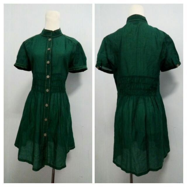 *0575* M號  夏清涼 竹節棉舒適洋裝