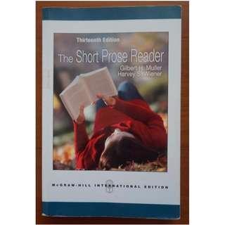 The Short Prose Reader, 13/e International Edition