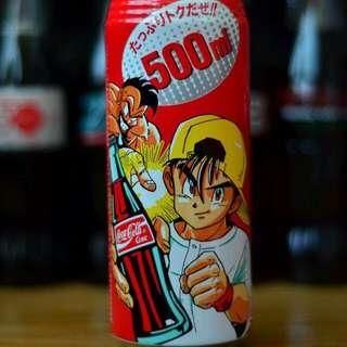 日本90年代 Super 500ml Coca Cola紀念罐