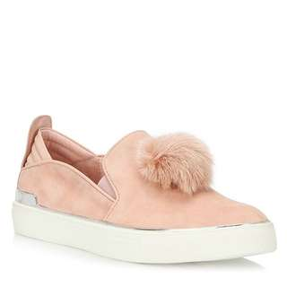 Wishbone Pink Suede Shoes