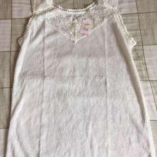 White Tanktop Dress