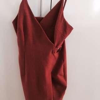 ORANGE/RED DRESS
