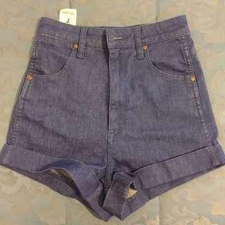 Wrangler Pin Up Denim Shorts High waisted Size 7