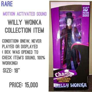 NECA Charlie And The Chocolate Factory Willy Wonka Johnny Depp 18 Inches