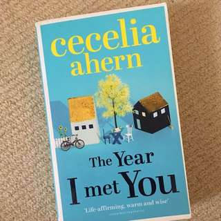 The Year I Met You Novel By Cecelia Ahern