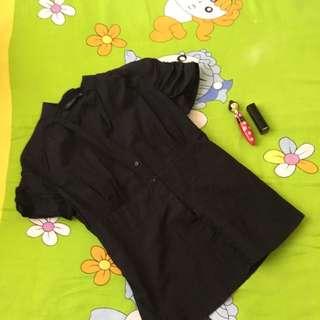 Zara Woman Black Polo