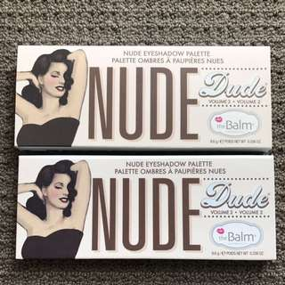 New🌺The Balm Nude Dude Eyeshadow Palette Ombre