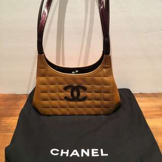 AUTHENTIC Chanel Chocolate Bar Bag