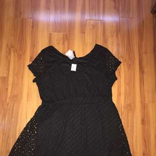 Black Knit Dress Crossroads