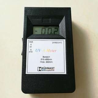 KHUNAST UV-A METER FROM GERMANY