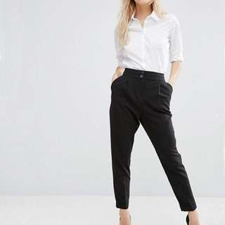 ASOS Tailored Black Trousers