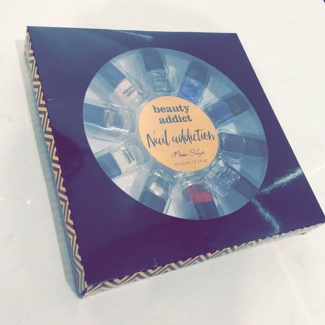10 Pack Nail Polish Gift Set