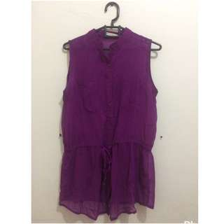 Body And Soul Purple Top
