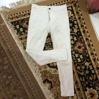 Hw White Jeans